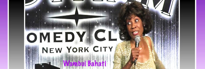 Wambui Bahati Stand-up Banner