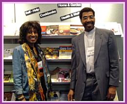 Wambui with Dr Haymond