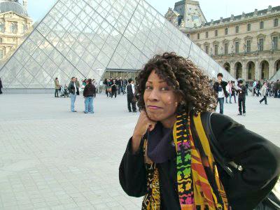 Wambui Bahati in Paris
