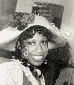 Wambui in Godspell on Broadway - late 1977,  Peggy