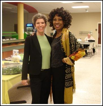 Leila Rogers and Wambui Bahati