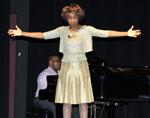 Wambui Bahati performing Balancing Act for Mental Health Association of SW Florida
