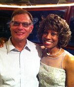Wambui Bahati With Brian Follweiler, June 23, 2012, Mental Health Association of SW Florida