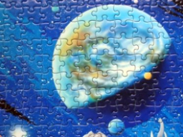 puzzle of earth