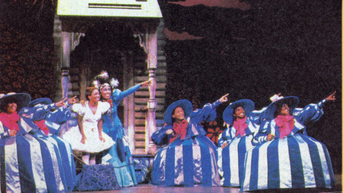 The Wiz  Wambui Bahati is Addaperl (the Good Witch of the North)  Stephanie Mills is Dorothy (1983-1984)