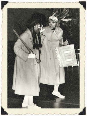 New York City Center's Young People's Theater (Right) Wambui Bahati (John Ann Washington) is a Cat.