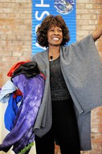 Wambui Performs Balancing Act  in Cleveland, Ohio - 2011, Photo courtesy of Marc Golub Photography