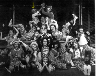 Wambui Bahati (John Ann Washington)in Godspell-Ford's Theater - Washington, DC cast - 1973