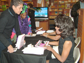 Wambui at Book Signing
