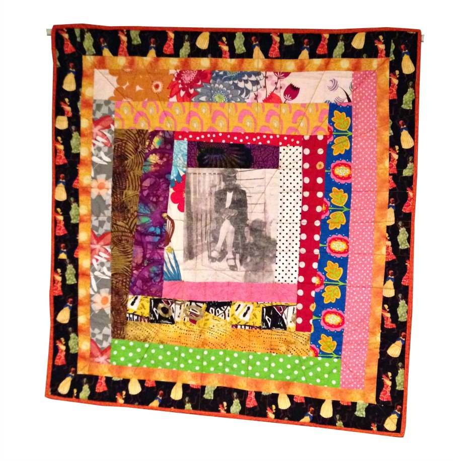 Wambui Made It: My Mama' quilt (front)