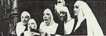 Wambui Bahati (John Ann Washington)as Sister Mary Hubert in Nunsense (Second from the right.) The Cohoes Music Hall - Chohoes, NY