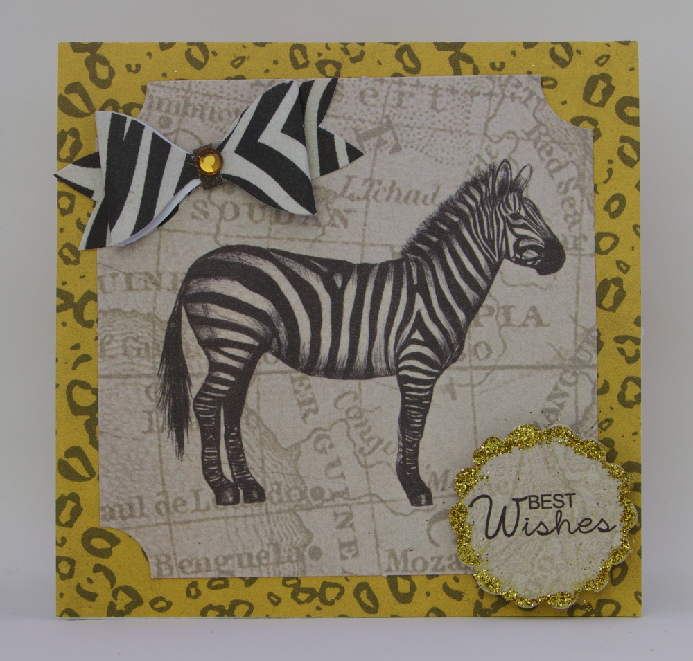 Wambui Made it - Safari Birthday Card